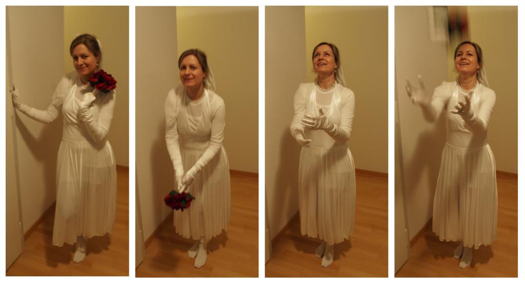 Brautstrausswurftest